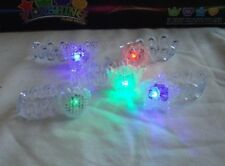 24 pcs Flashing Bracelet Wristband with Multicolor LED Lights Party Favor Supply