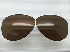 Custom Oakley Feedback Sunglass Replacement Lenses Brown Polarized NEW