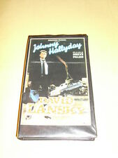 JOHNNY HALLYDAY VHS David Lansky Le Gang Des Limousines