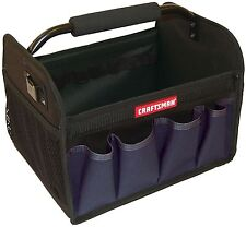 "Craftsman 12"" Tool Carry Tote Bag Blue Storage Gardening Unit Organizer Carrier"