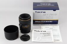 [Near Mint + BOX] TOKINA AT-X PRO 100mm F2.8 MACRO M100 D CANON From Japan #17