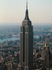"""+""""World-Famous Empire State Building"""" @ *New York/  '~Post Card~"""