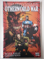 CAPTAIN AMERICA NICK FURY OTHERWORLD WAR MARVEL GRAPHIC NOVEL