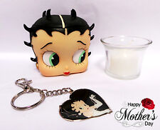 Betty Boop Mothers Day gift - Betty Candle head and keyring