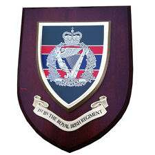 1st Royal Irish Regiment Military Wall Plaque uk hand made for MOD