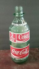 1970s Coca-Cola 2 liter green glass bottle