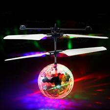 Flying LED Flashing Light Ball Infrared Aircraft Helicopt Induction Remote Toy