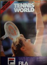 'Tennis World' UK Magazine-Nov/Dec 1981-Tracy Austin- A3 Poster Vitas Gerulaitis
