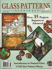 Stained Glass Patterns Quarterly Magazine Winter 2006