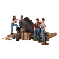 BRITAINS 31134 - American Civil War 13 Inch Mortar and 4 Man Crew