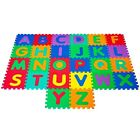 Foam Floor Alphabet Puzzles Mat For Kids - Water Resistant 6 Feet Wide