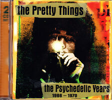 PRETTY THINGS psychedelic years 1966 - 1970 2CD NEU