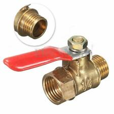 G1/4 pipe Male to Female Thread Brass Ball Valve Full Port Hose Connector Switch