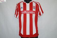 Stoke City 2009 - 2010 Home Le Coq Sportif Football shirt SIZE M