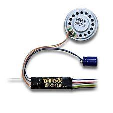 Digitrax decodeur SON SFX0416 diesel vapeur DCC digital avec déplacement  HO