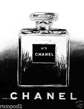 Advertising Poster/Print - Chanel Perfume -  Black and White - 8x10 inch