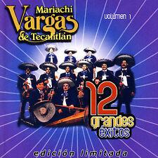 12 Grandes Exitos 1 by Mariachi Vargas De Tecalitlan