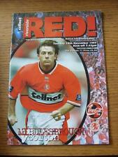 18/11/1997 Middlesbrough v Bolton Wanderers [Football League Cup] (Item in very