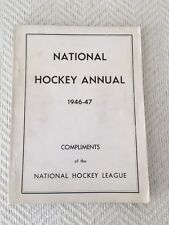 1946-47 National Hockey Annual RARE in NM Condition
