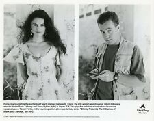 ROMA DOWNEY BARRY TARBERRY BLACK JACK SAVAGE ORIGINAL 1991 NBC TV PHOTO