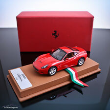 1/43 HOTWHEELS ELITE - FERRARI CALIFORNIA - BBR CASE / LEATHER BASE - PROMO BOX!