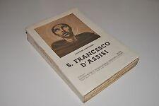 █ Giovanni Joergensen S. FRANCESCO D'ASSISI 1937 Livre en Italien █