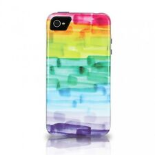 iFrogz Chemistry Slim Thin Bumper Case Apple iPhone 5 / 5S Watercolor Rainbow