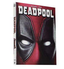 Deadpool (Blu-ray + DVD, 2016, 2-Disc Set) New w/ Slipcover FREE Same Day Ship!