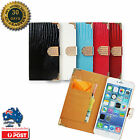 Diamond Magnetic Bling Shiny Crystal Leather Flip Wallet Case Cover For Iphone