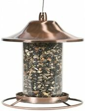 Hanging Bird Feeder Seed Metal Wild Pet Outdoor Garden Squirrel Proof New