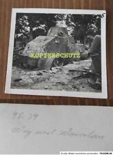 Original Foto Polen 1939 polnischer gepanzerter Spähwagen 2.WK