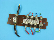Aiwa AD-6550 Cassette Repair Part -Fuse Board w/ Working Fuses 100ma 250ma 500ma