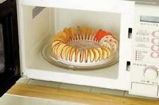 Homemade DIY Low Calories Microwave Oven Baked Potato Chips Maker Chips Tool