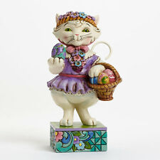 Jim Shore Pint Sized Easter Cat Figurine