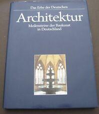 ARCHITEKTUR: MEILENSTEINE DER BAUKUNST IN DEUTSCHLAND (1991, HARDCOVER) DJ
