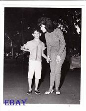 Annette Funicello w/brother VINTAGE Photo candid