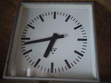 vintage pragotron industrial clock