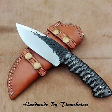 "9"" CUSTOM HAND FORGED 1095 STEEL HUNTING
