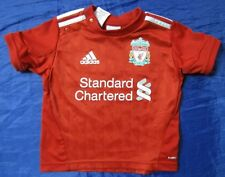 FC LIVERPOOL home jersey shirt ADIDAS THE REDS Little boy Baby 80cm /9-12 MONTHS