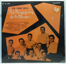 Les Compagnons De La Chanson - The Three Bells LP Rare French folk USA 1954