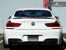 ABS PAINTABLE DUAL FIN TRUNK WING SPOILER - BMW F06 GRAN-COUPE F13 640I 650I M6