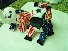 Vintage TY HTF RIGHTY AND LEFTY July 4 ,2000 MWMTS ( Elections are Near )