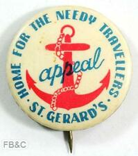 Vintage St Gerard's Home for the Needy Travellers Appeal Badge