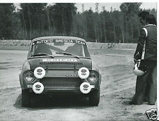 Skoda Rally 130RS (?) Autoest Brescia Team Rally Photograph Original 1970's