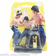 Bruce Lee Enter The Dragon Solar Power Display Action Figure Collectable Toy