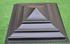 Plastic mold for Fence Pier Cap Moulds post concrete cement 15.74x15.74 inch