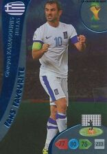 N°340 KARAGOUNIS # FANS GREECE PANINI CARD ADRENALYN WORLD CUP BRAZIL 2014