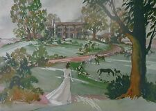 "GONE WITH THE WIND - ""SCARLETT"" LITHO - DOROTHEA HOLT - SHAW-TUMBLIN COLLECTION"