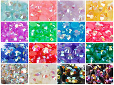2000 Crystal Flat Back Iridescent Nail Art Face Festival Rhinestones Gems AB UK