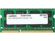 Mushkin Enhanced 4GB 204-Pin DDR3 SO-DIMM DDR3 1333 (PC3 10666) Laptop Memory Mo